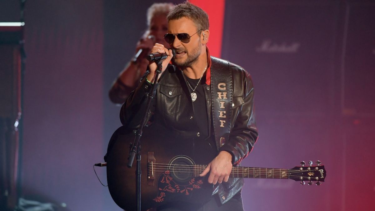Eric Church slams Covid-19 anti-vaxxers: 'Our grandparents fought the Nazis. Surely we can get a shot in the arm'