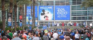 The Ultimate Disney Fan Event - brings together all the worlds of Disney under one roof for three packed days of presentations, pavilions, experiences, concerts, sneak peeks, shopping, and more. The event, which takes place July 14-16 at the Anaheim Convention Center, provides fans with unprecedented access to Disney films, television, games, theme parks, and celebrities.