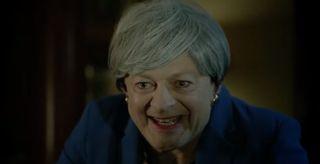 Andy Serkis as Theresa May