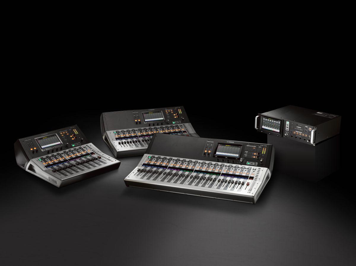 yamaha updates tf series digital mixers avnetwork. Black Bedroom Furniture Sets. Home Design Ideas