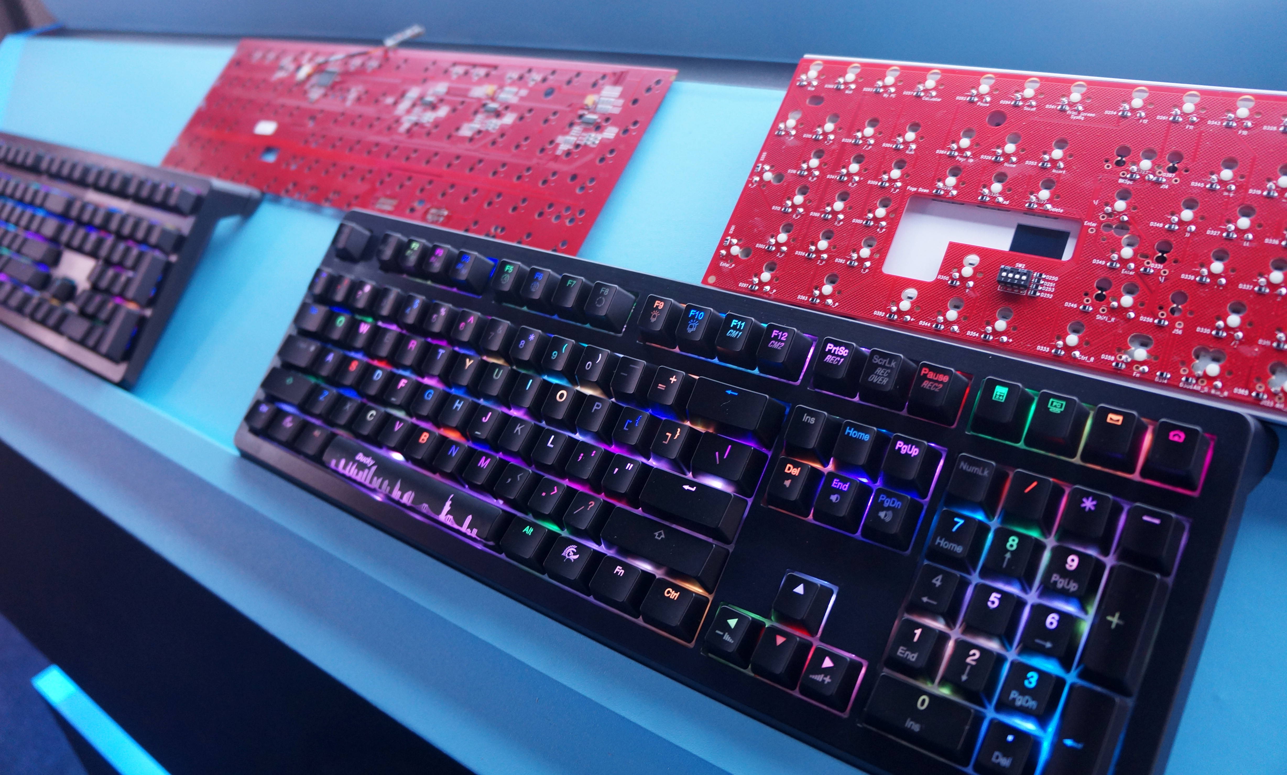 Hands-on: Ducky Shine 5 RGB keyboard and gaming mouse | PC Gamer