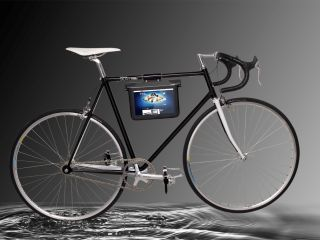 Samsung shows off odd Galaxy Tab bike/tablet holder