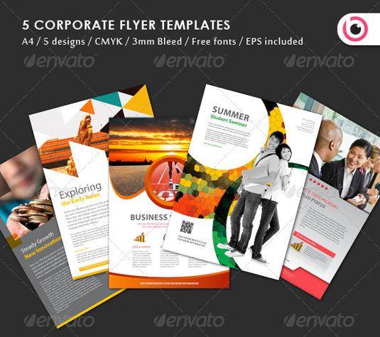 30 eye-catching flyer templates   Creative Bloq