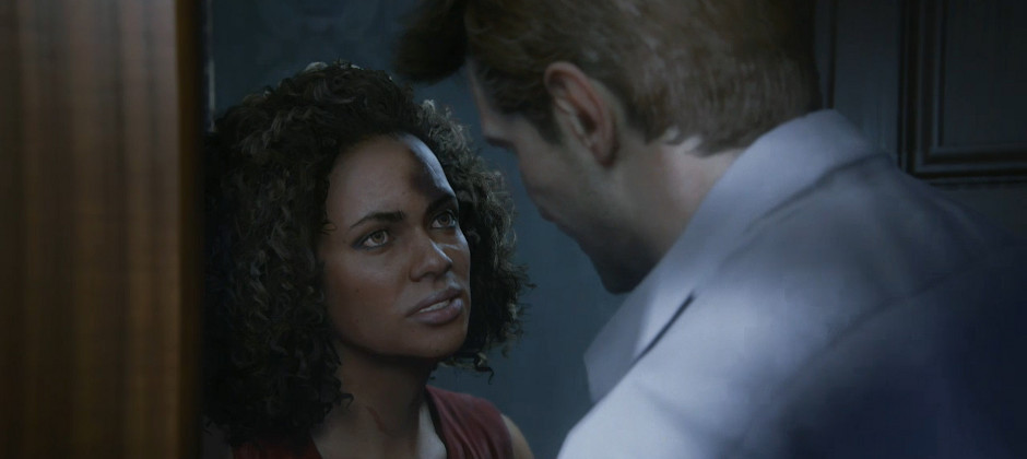 Watch Uncharted 4 S New Character Nadine Ross Smack The Crap Out