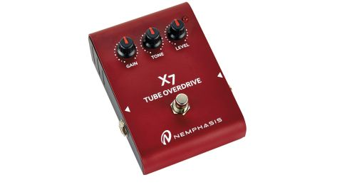 The X7 Tube Overdrive has a 12AX7 valve at the center of its design