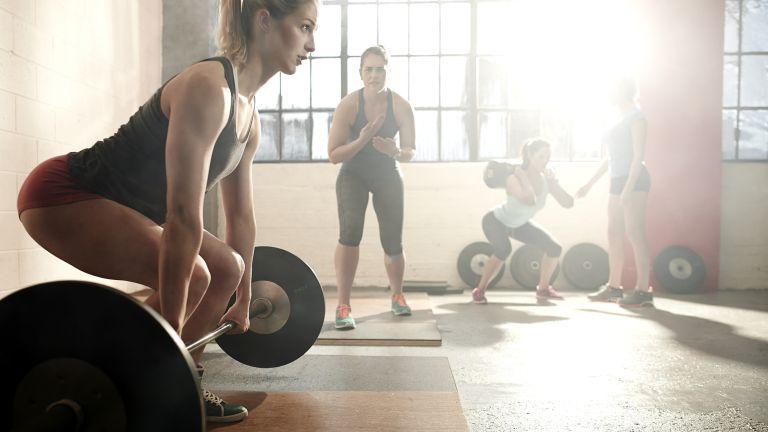 full body exercise deadlift