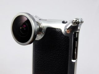 Factron s new iPhone case is costly but comes with the option of adding on a range of different very cool looking camera lenses