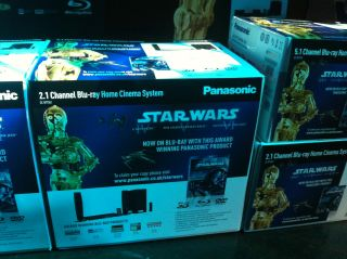 Star Wars Blu-ray brings Panasonic partnership