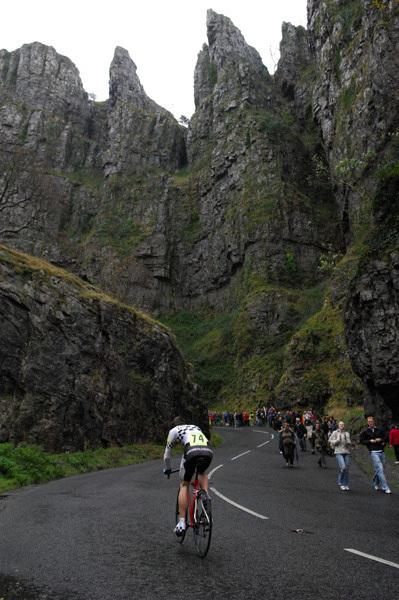 National Hill Climb at Cheddar Gorge