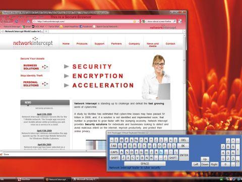 Network Intercept Secure-Me