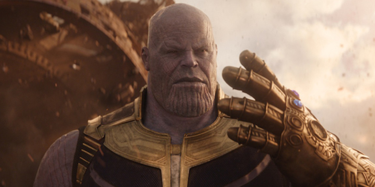 Thanos snap during the blip