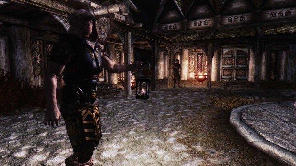 the best skyrim mods: wearable lanterns