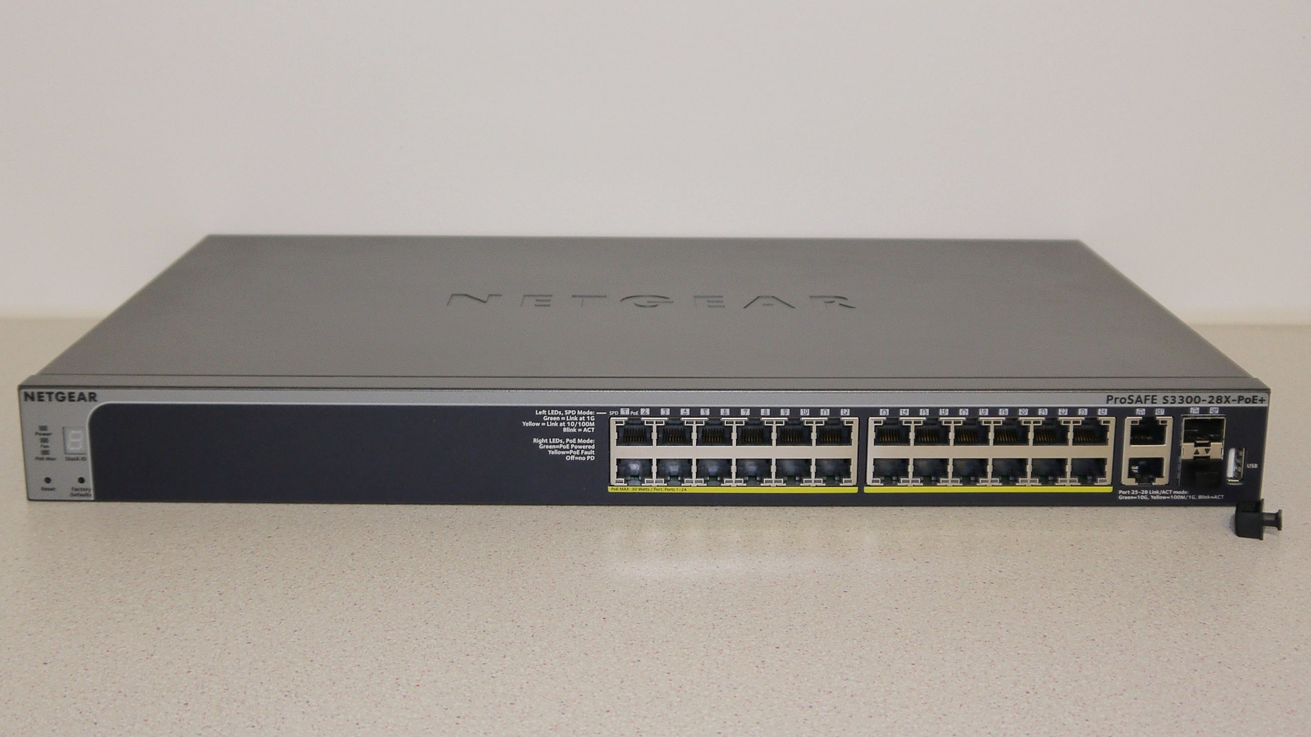 Netgear Prosafe Smart Switch S3300 28x Poe Review Techradar