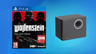 Wolfenstein: The New Order and Vibe Subwoofer