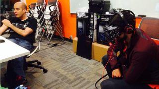 Valve VR headset prototype