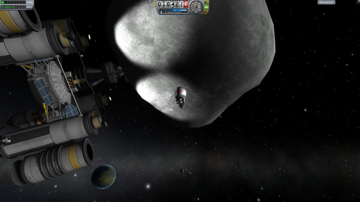 Kerbal Space Program: Asteroid Redirect Mission hands-on