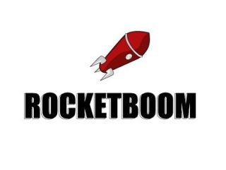 Rocketboom: pretty ladies and technology news. Awesome!