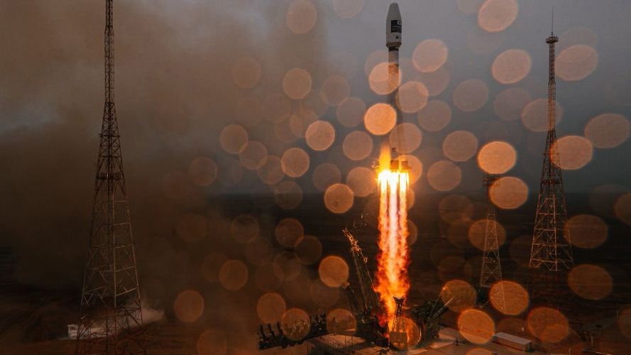Russian Soyuz rocket launches 38 satellites on first fully commercial mission