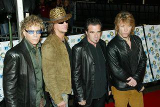 Tico and his Bon Jovi pals