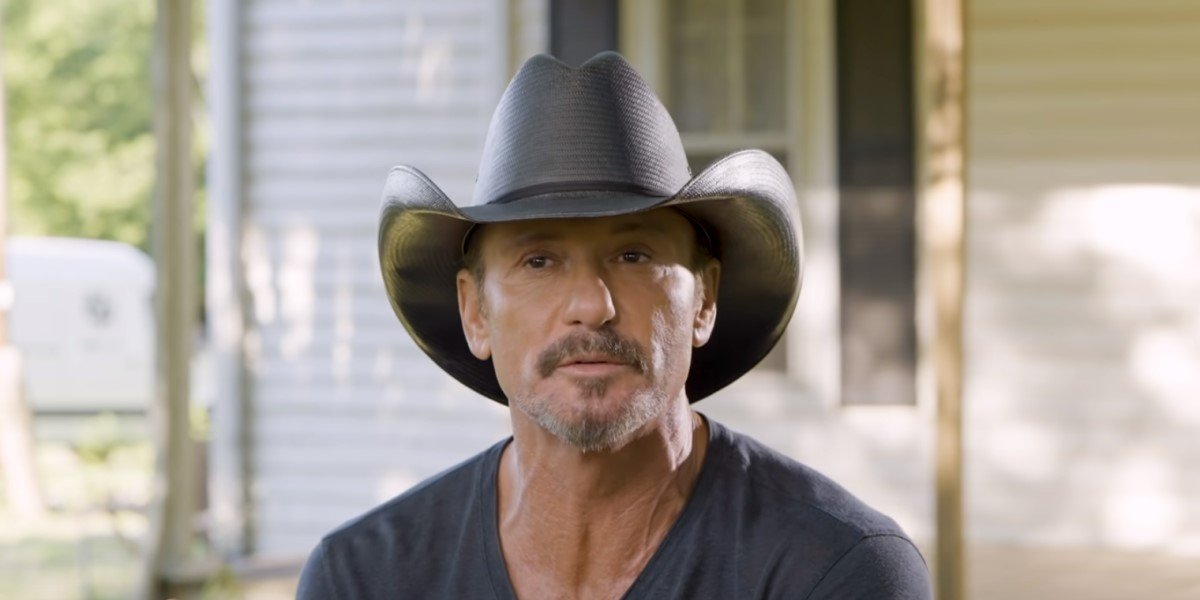 tim mcgraw talking about daughter in 7500 obo video