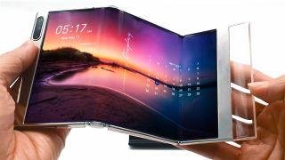 Samsung Displays neues OLED S-Foldable