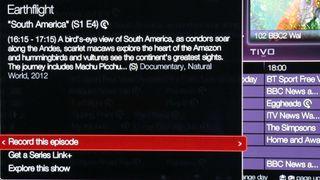 Virgin Tv V6 Tivo Box Review Page 2 Techradar