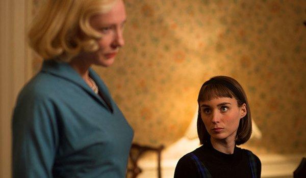 Carol Cate Blanchett Rooney Mara intense staring