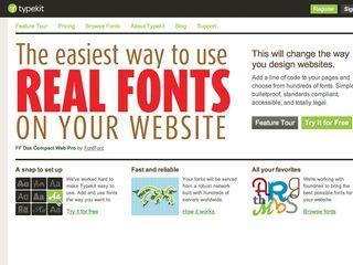 Web fonts