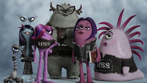 Monsters University reveals sorority and fraternity artwork | GamesRadar+