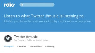 Now Playing: Twitter Music charts show up on Rdio