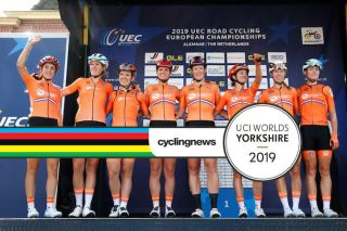 The Dutch team for the 2019 Worlds road race includes five of the riders who rode the road race at the 2019 European Championships