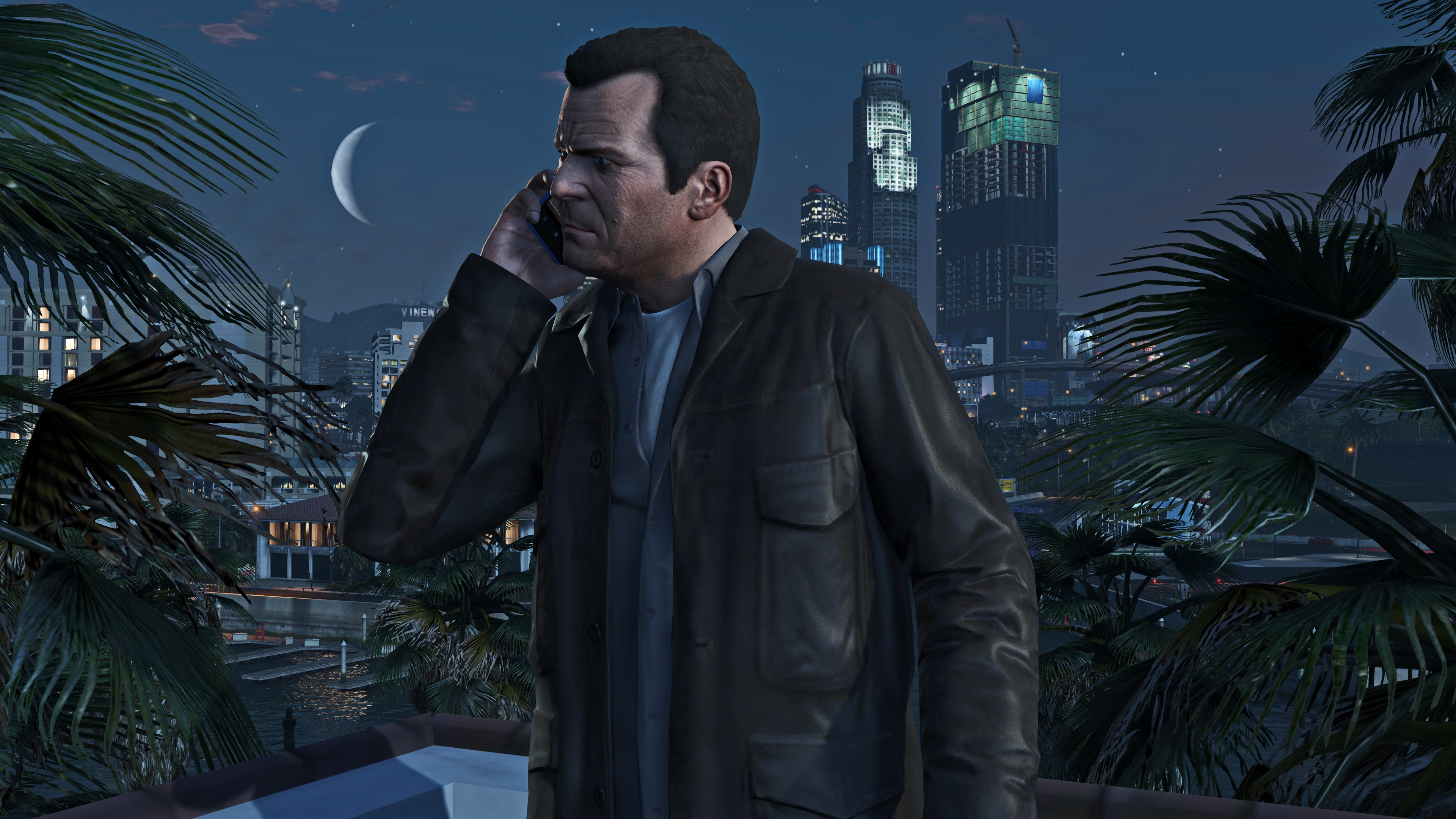 The actor who plays GTA 5's Michael knows nothing about