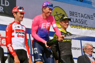 EF Pro Cycling's Sep Vanmarcke topped the podium at last year's Bretagne Classic-Ouest France. He'll return to try to defend his title in 2020, and will also ride the Euopean Championships road race the next day for the Belgian national team