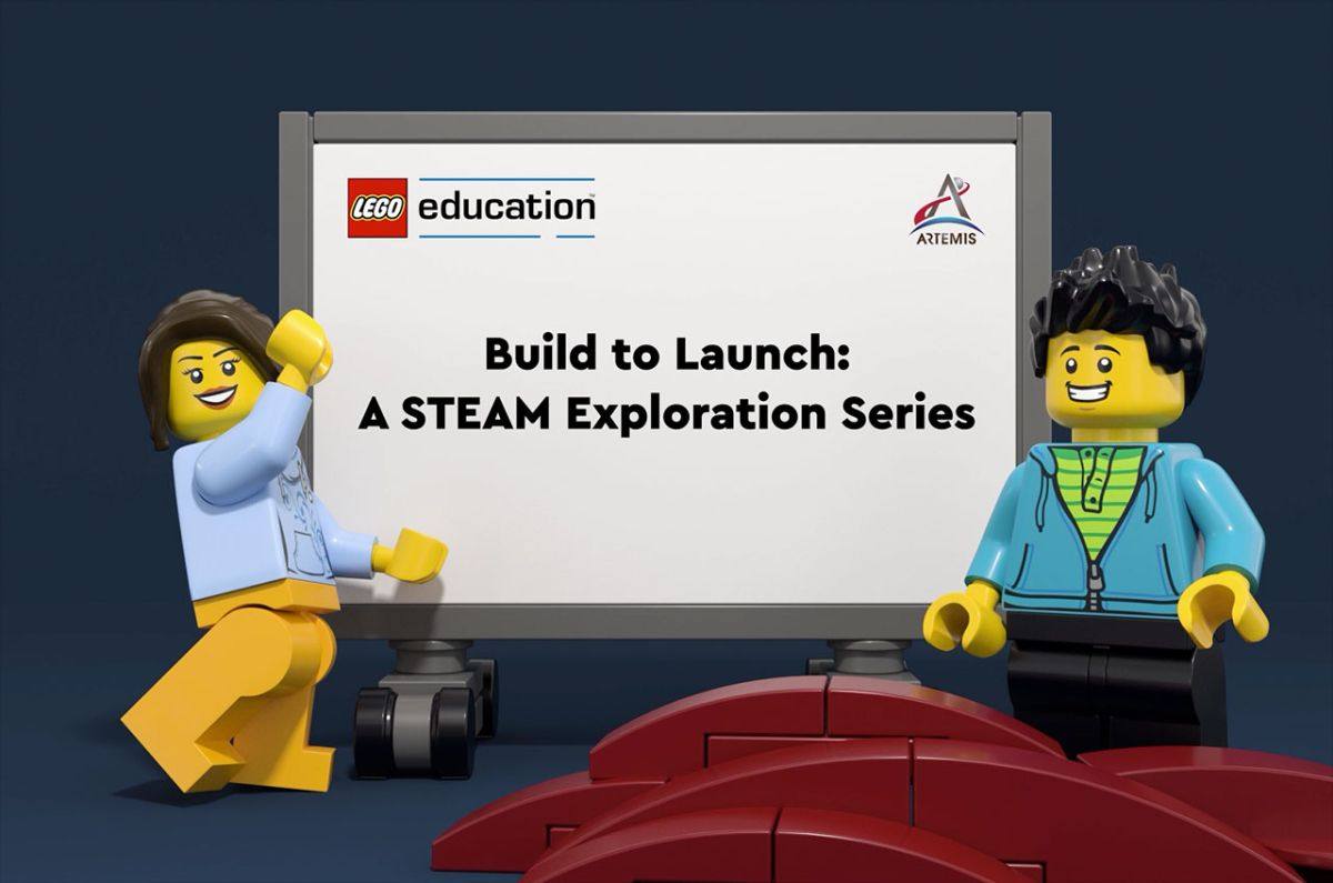 Build to Launch: Lego Education to bring NASA's Artemis 1 mission into classrooms