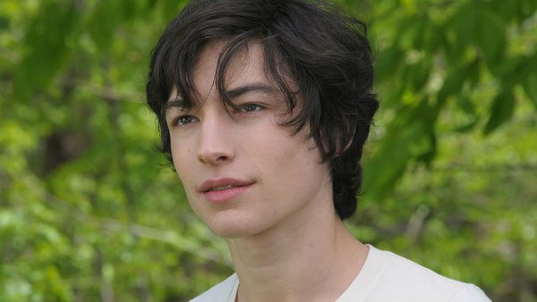 Ezra Miller reacts to Flash casting