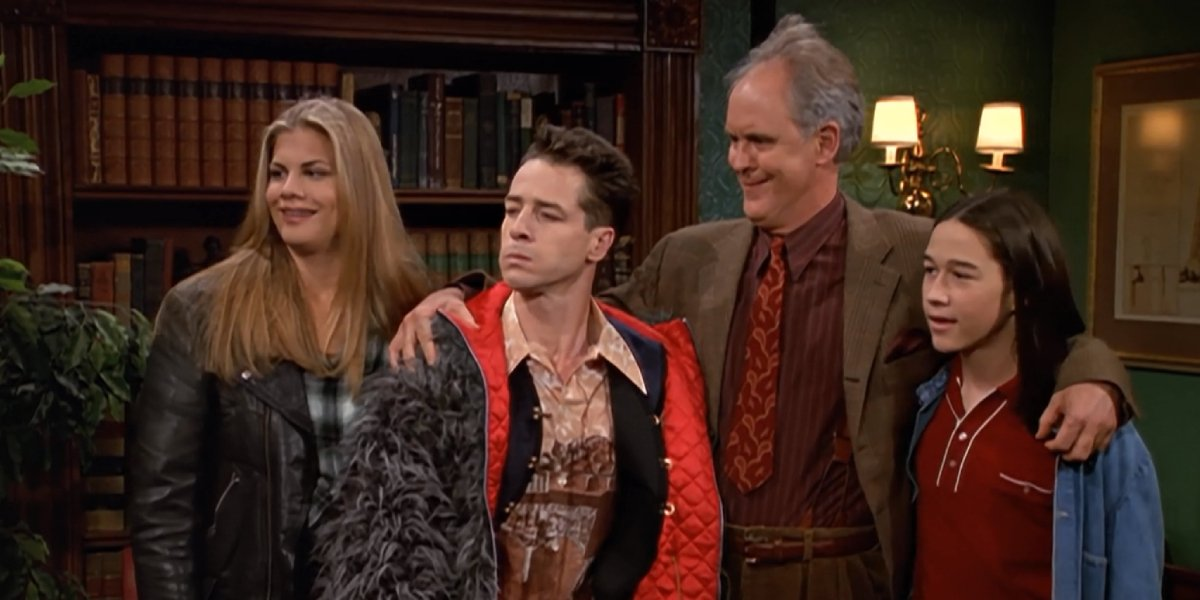 The cast of 3rd Rock from the Sun