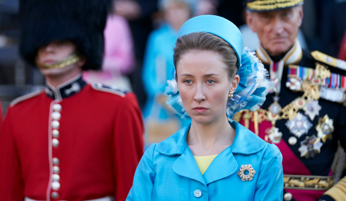 The Crown Princess Anne Erin Doherty Netflix
