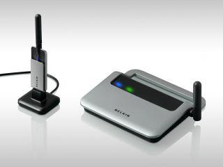 Belkin's F5u302ea wireless hub
