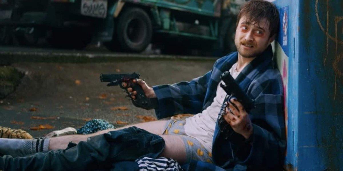 Daniel Radcliffe in Guns Akimbo.