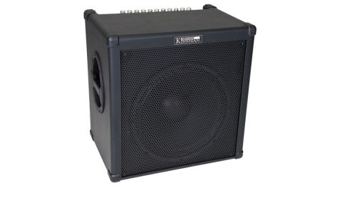 The Kinsman K100B makes a great practice amp, but has no problem handling small gigs, either