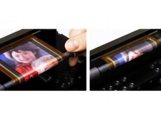 Sony shows off new flexible OLED tech