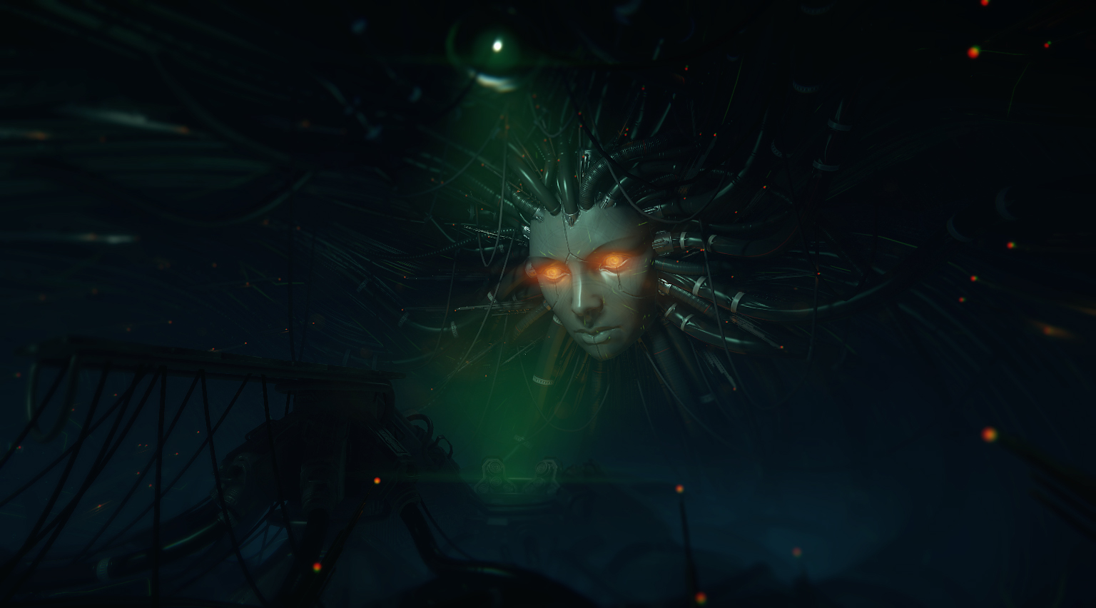 System Shock 2 modder reveals screens from gorgeous cutscene