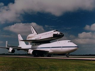Endeavour - scheduled for launch later today
