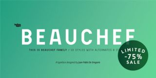 Font of the day: Beauchef