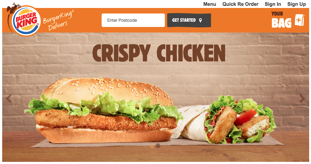 Burger King To Trial Uk Online Order And Delivery Service