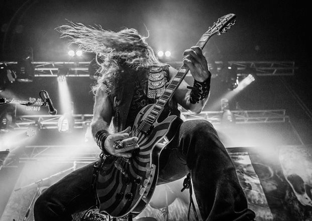 zakk wylde officially introduces wylde audio guitars and amps guitarworld. Black Bedroom Furniture Sets. Home Design Ideas