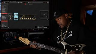 Eric Gales demoing sounds from his new Overloud TH-U signature plugin