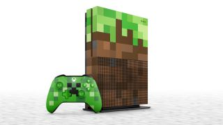 This limited edition Minecraft Xbox One S bundle looks like