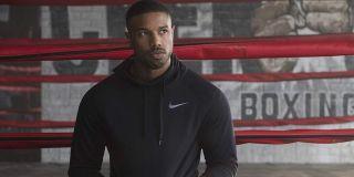 Adonis Creed (Michael B. Jordan) looks ahead in Creed (2018