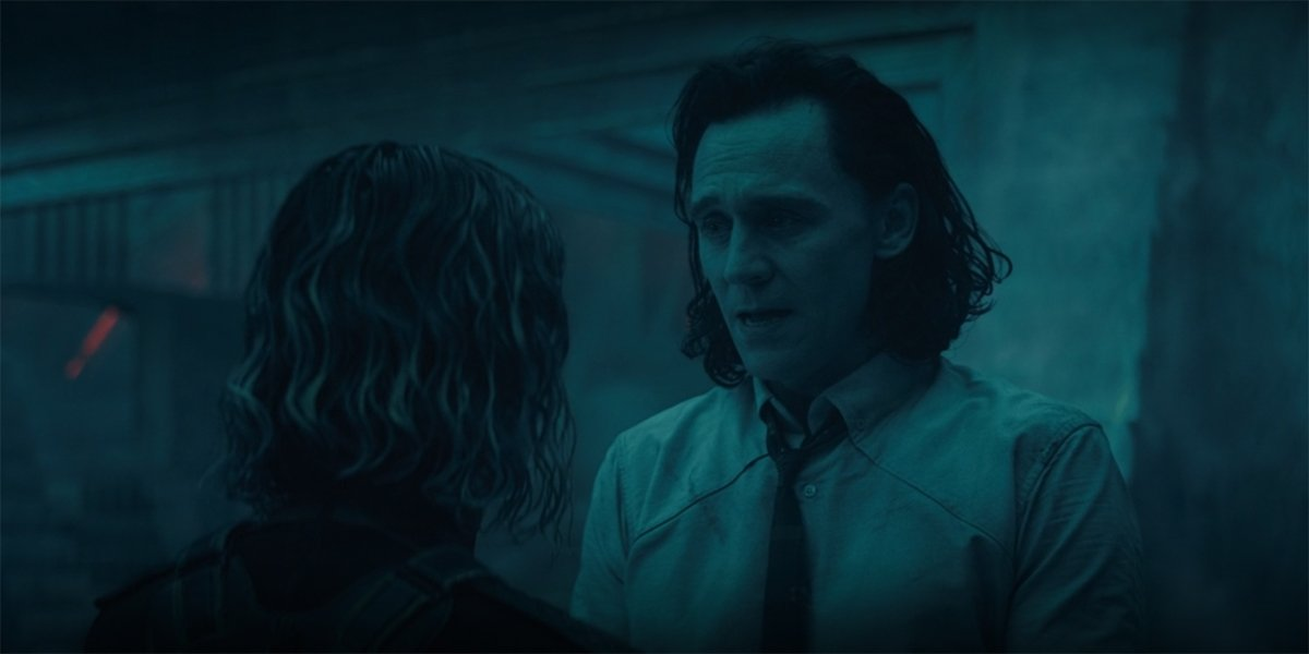 Loki and Sylvie in Loki